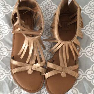 Gap gladiator sandals